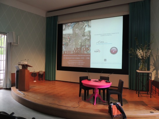 The wonderful venue: Auditorium at Boijmans Van Beuningen